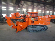 Electric hydraulic control system crawler loader for sale