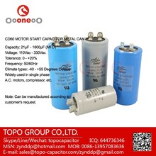 400-500uF 300V CD60 Motor Starter Run Capacitor used for Electrical Pump