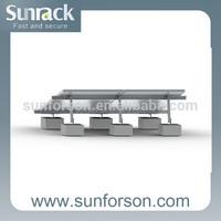 50KW adjustable solar ground mount system