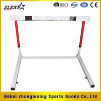 IAAF adjustable and folding stell athletic Hurdle