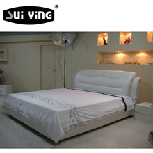 S114 elegant design modern casual concise bed
