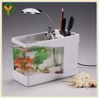 2013 design moderno tanques de peixes para o escritório, preto e branco do tanque de peixes