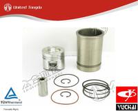 D30-9000200* original yuchai engine YC4D cylinder liner kit for chinese truck