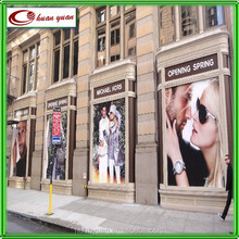storefront marketing window cling printing promotional items for apparel brand
