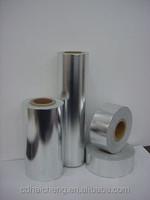 Polyester film metallized