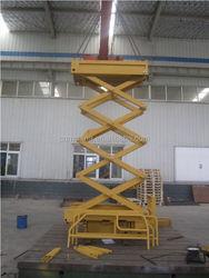 Changqing Brand Hydraulic Scissor Lifting Equipment with ISO