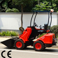 Pequeño jardín cortacéspedes/segadoras dy620 tractor mini cargador frontal con 4 neumático del motor diesel