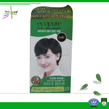 Non allergic hair color blue hair dye without chemicals for home use