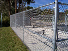 dog kennel /chain link fence /net