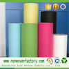 China supplier colorful pp nonwoven felt fabric