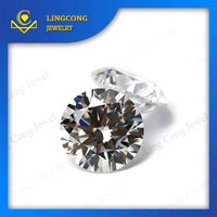 Wuzhou factory wholesale price Sell faceted gemstones 2mm round