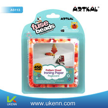 NO.1 Artkal eco- friendly 5mm hama beads kit as easter activities