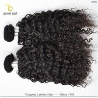 2015 Long Lasting Wholesale High Quality Unprocessed Natural Color afro hair weave