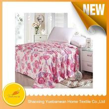 Made in china Beautiful Soft Feel Super soft blanket fill