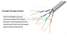 Bajo costo los precios del gato 6 / Cat 5 FTP / UTP Ethernet Cable de datos especificaciones