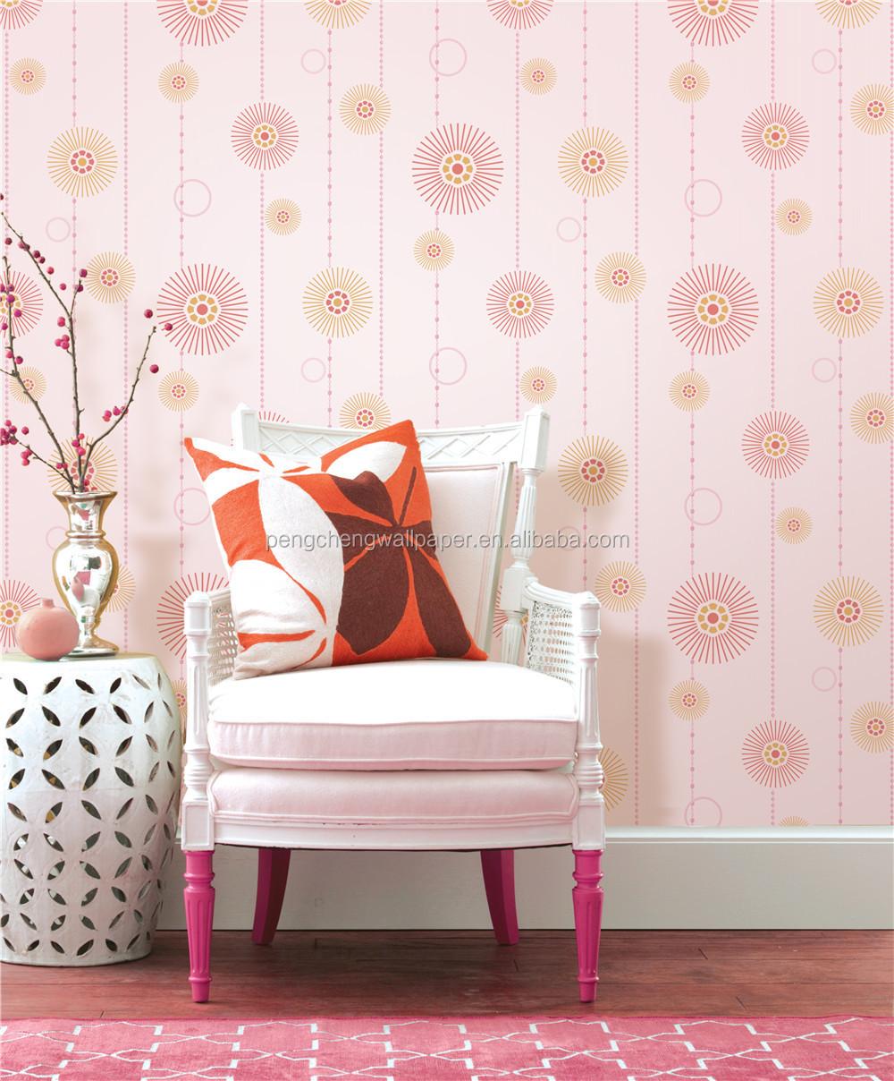 moderno interior de la casa papel pintado de lujo del papel pintado lavable