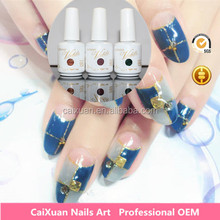CAIXUAN professional uv gel manufacturer best quality and competitive price soak off UV/LED one step nail gel polish