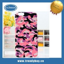 Hot selling for iphone 6 phone case with camouflage pattern