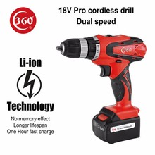 18V Professional Li-ion cordless drill