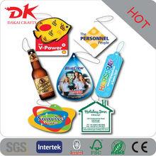 Custom Beer bottle shaped car paper air fresheners