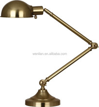 Vintage Retro Edison Bulb Industrial Rust Table Lamp