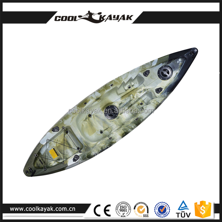 Hot sale cheap plastic small boat sit on top single for Best cheap fishing kayak