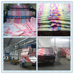 high quality 100% polyester printed fabric