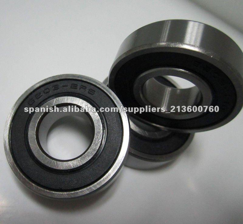 rendimiento de los cojinetes del motor 6203-2rs / 6203 2rs rodamientos de bolas