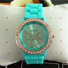 Yx6002 promocional barato del silicón relojes de banda mayorista Miami