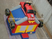 commercial inflatable truck bouncer castle
