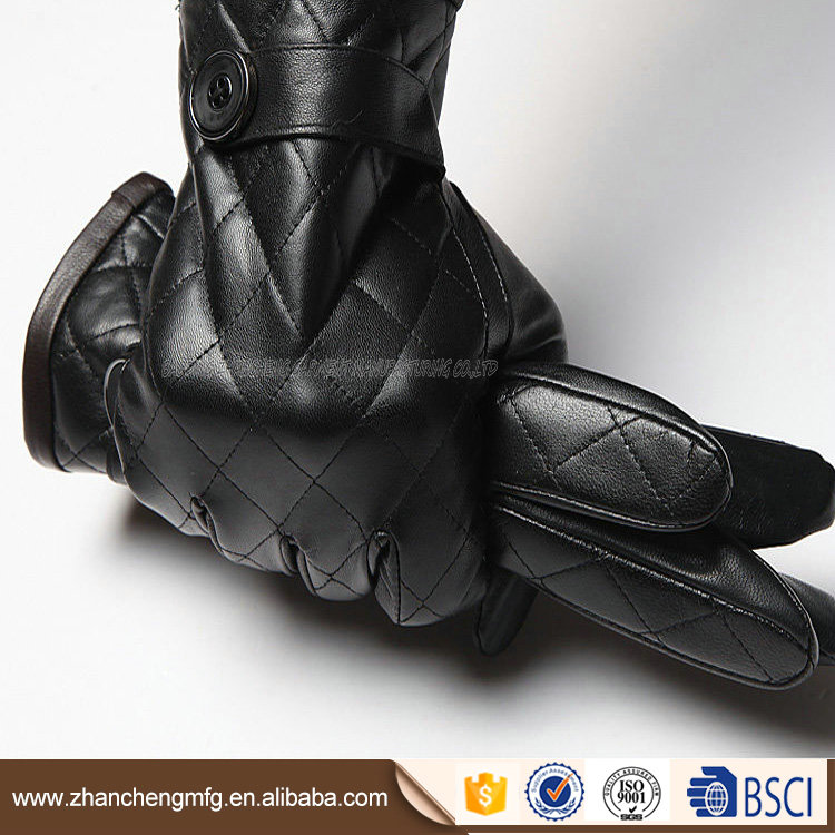 New design hand gloves for man with great price