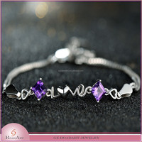925 sterling silver bracelet jewelry with wholesale price
