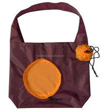 Pumpkin design 50kg foldable shopping bag