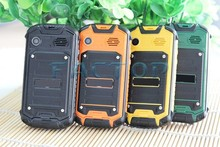 new ultra slim phone mobile phone waterproof 2.5 inch TFT android 4.2.2 2MP cameras GSM dual sim cards