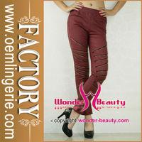 Fashion Design Sexy Ladies Tight Pants Rubber Pants