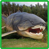 Simulation Model shark model,fiberglass shark statues