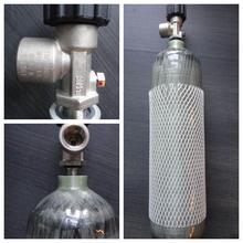 high pressure carbon fiber oxygen cylinder for diving
