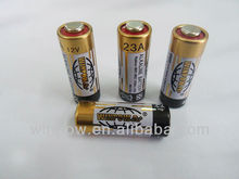 23a 12 volt super alkaline battery factory in China