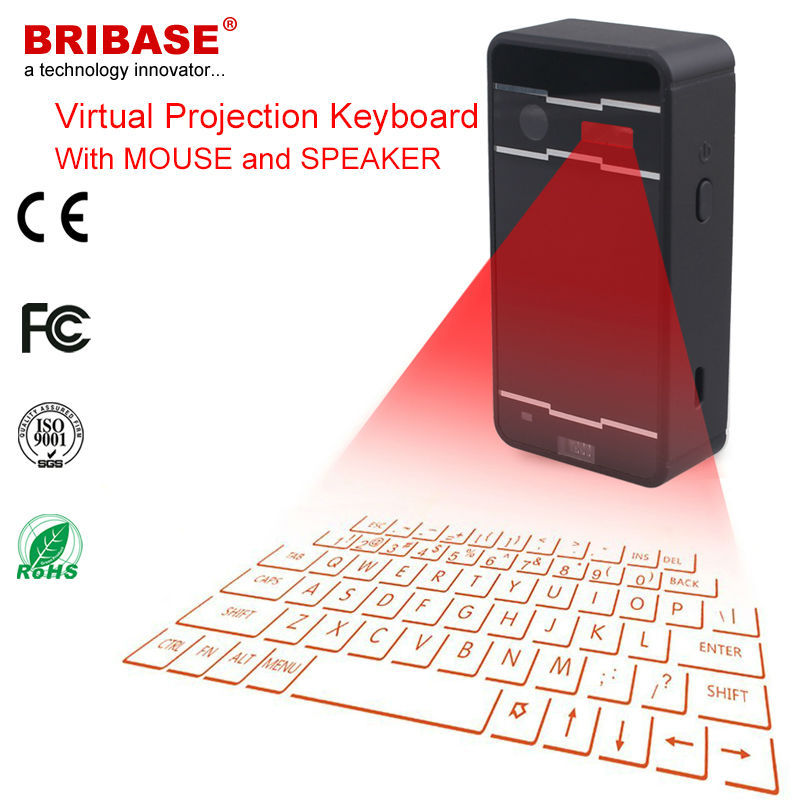 Bluetooth infrared virtual laser keyboard and mouse for for Bluetooth projector for iphone 6