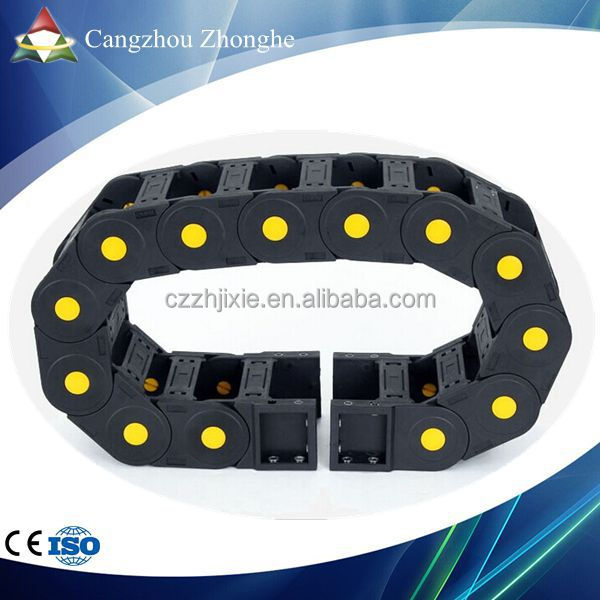 Flex Ethernet Cable Chain : Cangzhou zhonghe cnc plastic flexible wire tracks cable