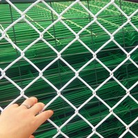 High Quality and Low Price Wholesale 6 feet galvanized steel wire chain link fencing