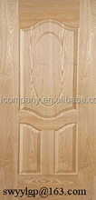 High quality mdf/hdf moulded door skin with cheap price 3mm