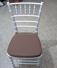 high density seat cushions for Chiavari chairs