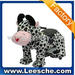 LSJQ-227 cute apperance puppy battery coin operated funny dog walking animal rides for sale kiddie ride for kids
