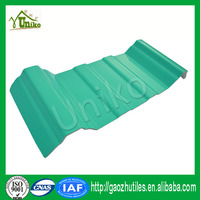 excellent corrosion resistant high quality artificial extrusion plastic roof tile