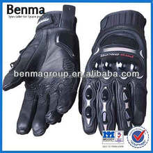 China sport motorcycle read leather glvoes, best water proof motorcycle gloves