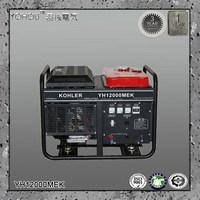 60Hz 110v 110v 120v 127v 220v 230v 10kw AC Single Phase Output Type Kohler gas gasoline generator