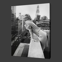 High quality sexy nude lady marilyn monroe canvas prints, canvas wall art