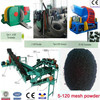 Waste Tyre Shredder / Waste Tire Recycling Rubber Powder Machine / Full Automatic Waste Tire Recycling Equipment