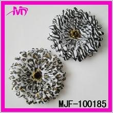 Artificial jasmine silk flowere heads flower fabric MJF-100185